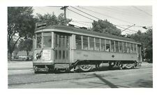 P790 RP 1940s MILWAUKEE ELECTRIC RAILWAY & TRANSPORT CO CAR #644 ' TEUTONIA '