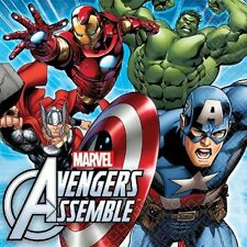 Amscan 511354 Avengers Lunch Napkins Pack of 96