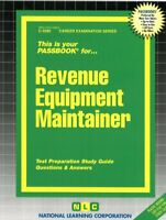NEW Revenue Equipment Maintainer Test Practice Passbook Upcoming NYC Exam 8615