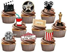 36 Value Pack - Hollywood Family Movie Night Mix Edible Cake Toppers Decorations