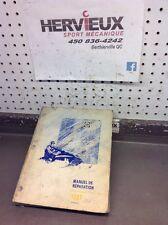 Ski-Doo Bombardier 1987 Manuel De Reparation Francais 6120726D