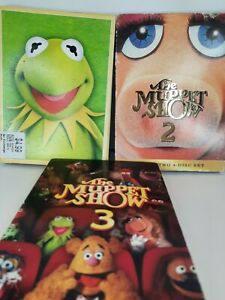 THE MUPPET SHOW TV SERIES COMPLETE SEASONS 1 2 3  DVD