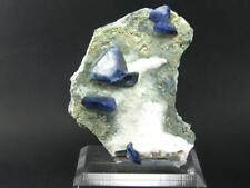 "STUNNING BENITOITE CLUSTER FROM CALIFORNIA - 3.7"" - HUGE XLS"