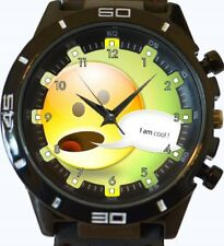 I Am Cool SMILE CARTOON FACE New Gt Series Sports Wrist Watch