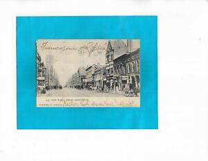 Vintage Postcard-View of Main Street, Lexington, Kentucky