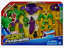 "Marvel Super Hero Mashers Collection__HULK vs. LOKI 6 "" figures_Mash Pack 2 Pack"