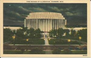 ag(E) Dearborn, MI: Ford Rotunda By Illumination