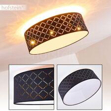 LED Fernbedienung Decken Leuchten schwarz/Kupfer Wohn Schlaf Raum Lampen dimmbar