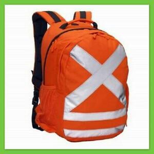 NEW Caribee Calibre Hi Vis 26L Back Pack Orange 5801 Backpack daypack Travel Bag