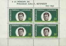 Timbres Personnages Kennedy Cameroun BF3 * lot 29582