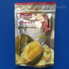 DURIAN Monthong Vacuum Freeze-Dried King Fruit Snack Sweet from Thailand 100g.