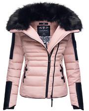 Navahoo Ladies Winter Jacket Parka Quilted Warm Lining Biker New Yuki