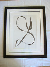 """Friendship Forever"" - A Nancy Marie Barnes 24"" x 30"" Framed 2012 Ink Abstract"