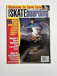 Transworld Skateboarding Magazine April 1992 Rubalcaba Cover Vintage Bucky Lasek