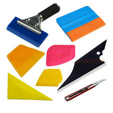 8in1 Car Vinyl Stickers Wrap Application Tool Kit Window Film Tint Squeegee USA