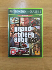 Grand Theft Auto IV (GTA 4) for Xbox 360 *No Manual or Map Included* Classics