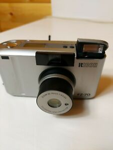 RICOH FZ-70 35mm FILM CAMERA Zoom Silver *A1