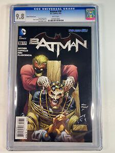 BATMAN #39 KUBERT VARIANT CVR CGC 9.8 SNYDER CAPULLO & KUBERT DC COMICS 4/15