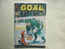 677f824f117 1988 89 HARTFORD WHALERS PROGRAM NHL GOAL MAGAZINE ULF SAMUELSSON AUTO  AUTOGRAPH