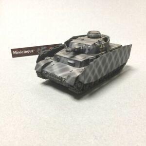 NAZ085 - SOLIDO / VEREM - GASO.LINE ? - Panzer IV PLATON