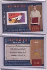 2010 PANINI PARKER BOHN SOUVENIR STAMPS RELIC CARD ~ /250  PBA BOWLING MULTIPLES