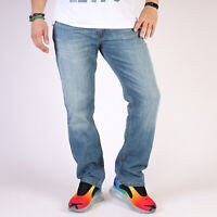 Levi's 514 Gerades Bein Stonewashed Blau Herren Jeans 32/30 W32 L30