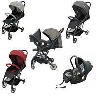 Compact Lightweight Baby Travel Stroller Pram Buggy Pushchair One Hand Tri-Fold