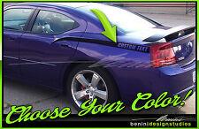 Sloped Side Stripe Decal Spears Fits Daytona Srt Rt 2006 2010 Dodge Charger