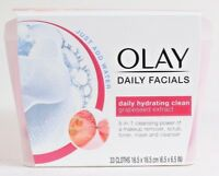 1 Olay Daily Facials 5In1 Hydrating Clean Grapeseed Extract 33 Ct Cloths