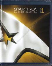 STAR TREK SERIE CLASSICA COMPLETA 3 COFANETTI BLU RAY NUOVI!