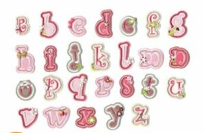 A-Z Alphabet Letter Patches Embroidered Iron On Patch Diy Crafts