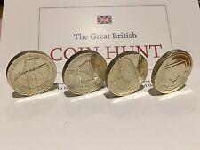 £1 Bridge UNC COND 2004 2005 2006 2007 near uncirculated condition coins!!!