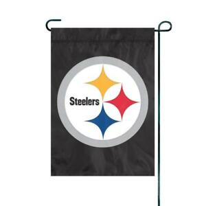 Pittsburgh Steelers NFL - Garden Flag - outdoor flag - Steelers Flag - Black