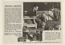 Z1247 ZEISS IKON Contax II 24 x 36 mm. - Pubblicità d'epoca - 1936 Old advert