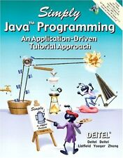 Simply Java Programming An Application-Driven Tutorial Approach by Paul J Deitel