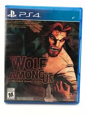 The Wolf Among Us PS4 Video Game (Sony PlayStation 4, 2014)