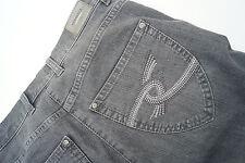 Raphaela BRAX Ina Fresh Damen stretch Jeans Hose Gr.38 short kurz grau TOP #l