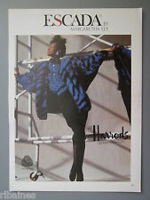 R&L Ex-Mag Advert: Escada by Margaretha Ley Harrods Retro Fashion