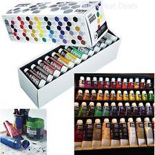 Set Paint Tube Basics Liquitex Acrylic 48 Piece Art Painting Color Mixing Pro