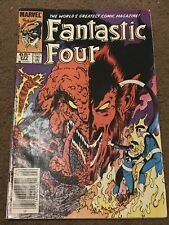 Fantastic Four Comic Book #277 Marvel Comics 1985 Mephisto Dr. Strange