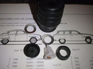 SAAB 95 96 2stroke 2takt Sonett NEW brake master kit LOCKHEED 1961-63 (not V4)