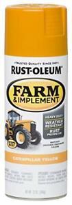 Rust-Oleum 280140 Farm & Implement Spray Paint, Yellow