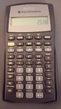 TI Texas Instruments BA II 2 Plus Professional Financial Calculator, tested