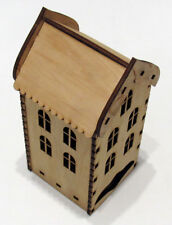 Wooden Tea House Box, Tea Bags Holder, Kitchen, KIT