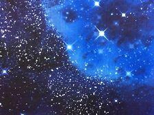 TT56 Space Galaxy Stars Twilight Starry  Night Sky Cotton Fabric Quilt Fabric