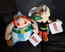 Peluche Asterix et OBELIX lidl 2020 15cm - Avec Étiquette