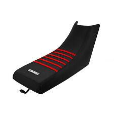 1987-2006 YAMAHA Banshee Black/Red RIBBED SEAT COVER BY Enjoy MFG