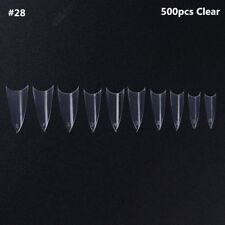 Ballerina Nails Artificial Fake Nails DIY Nail Tips Manicure Nail Art Salon