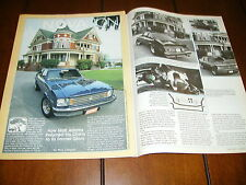 1975 CHEVROLET NOVA HOT ROD   ***ORIGINAL 1984 ARTICLE***