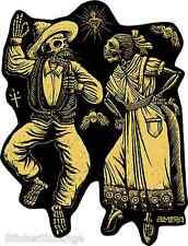 Dia De Los Muertos Sticker Decal Art Marco Almera MA70